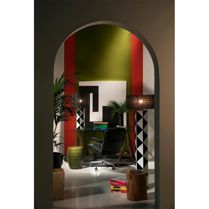 Chaise de Bureau réglable 64 x 60 x 93 99 cm Cuir Métal Noir - image 53653