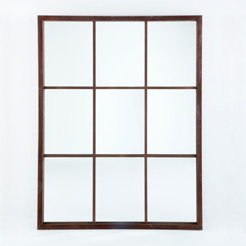 Mirror 100X4X132 Lacquer Mdf Rust