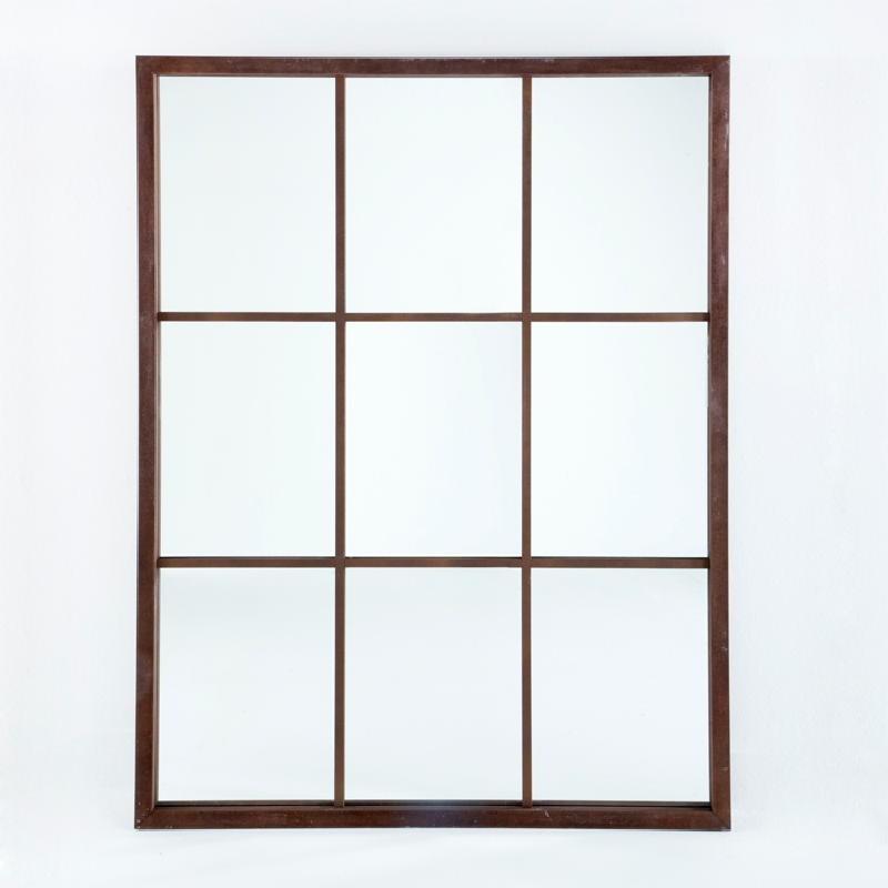 Specchio 100X4X132 Lacca Mdf Ruggine
