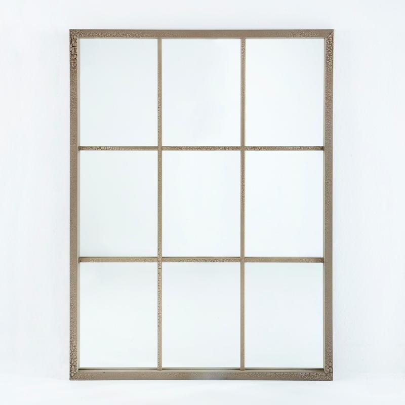 Specchio 100X4X132 Lacca Mdf Sabbia - image 53677