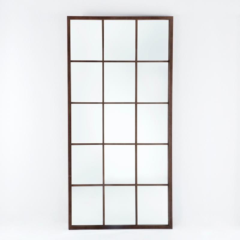 Spiegel 100X4X200 Lack/Mdf Oxid