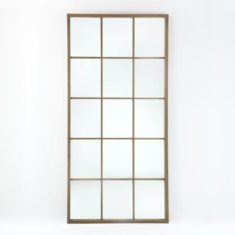 Miroir 100x4x200 Laqué MDF Sable - image 53686
