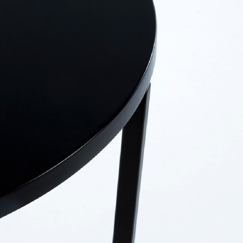 Auxiliary Table 50X50X54 Metal Mdf Black - image 53696