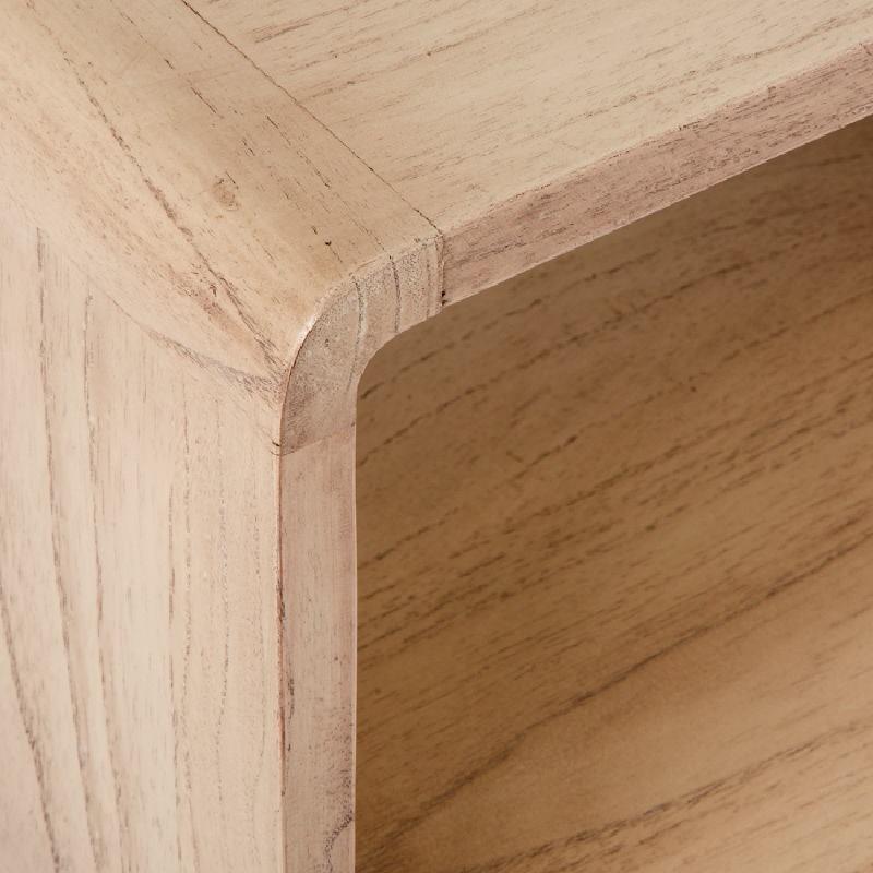 Table de chevet 50x35x51 Bois Naturel - image 53704