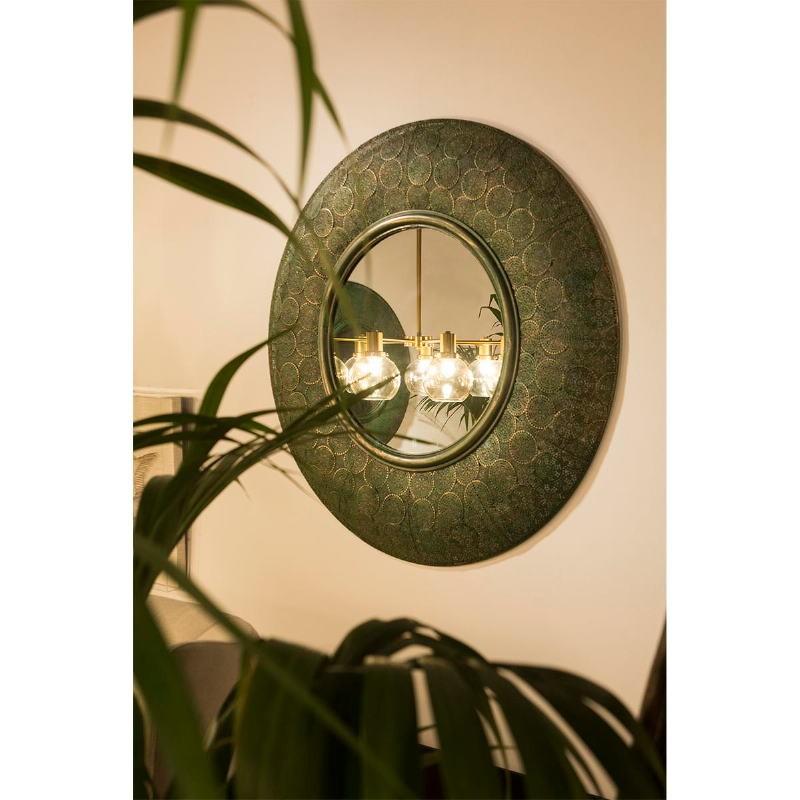Espejo 86X5X86 Metal Oro Verde - image 53742