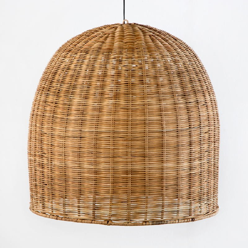 Hanging Lamp 60X60 Wicker Natural