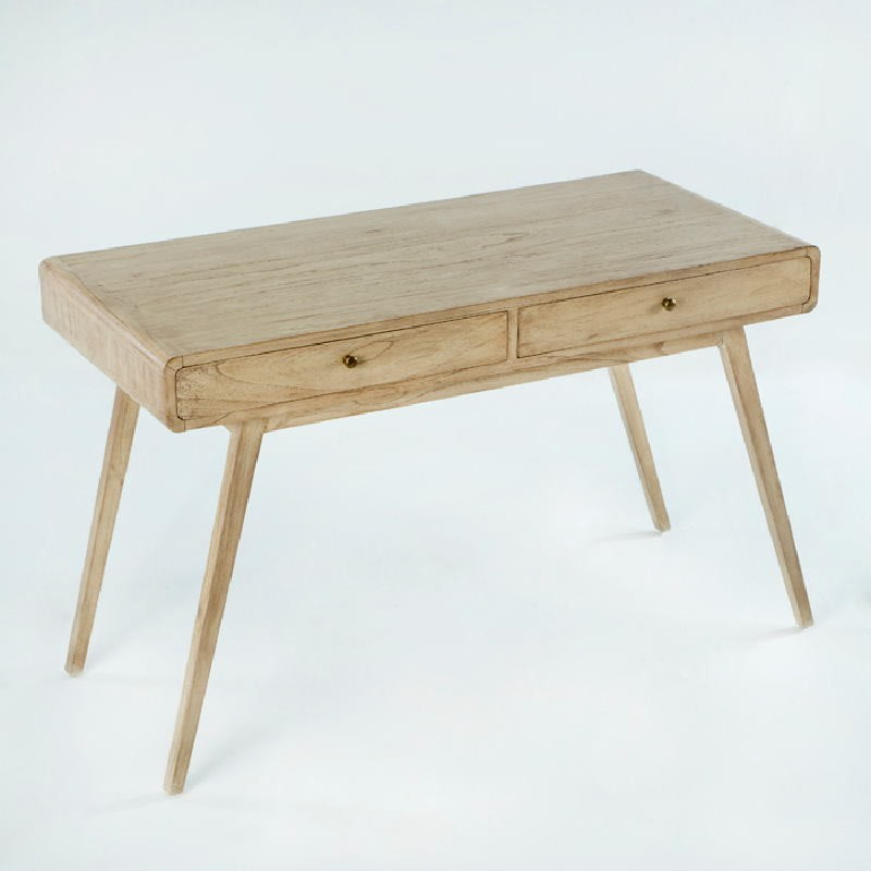 Schreibtisch 120X55X76 Naturholz