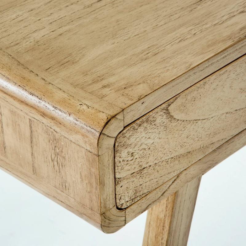 Desk 120X55X76 Wood White Veiled - image 53759