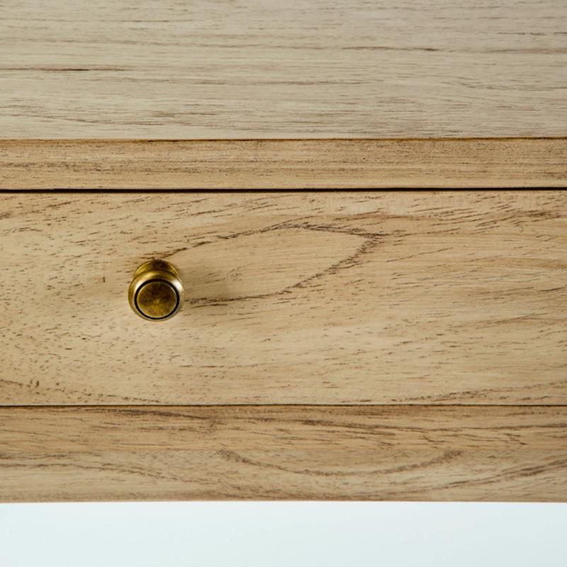Desk 120X55X76 Wood White Veiled - image 53760