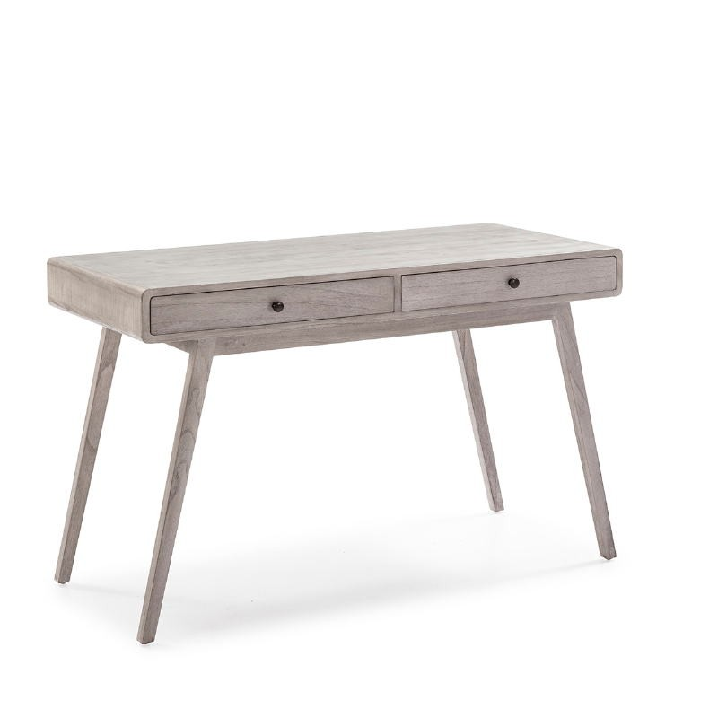 Desk 120X55X76 Wood Grey Veiled - image 53762
