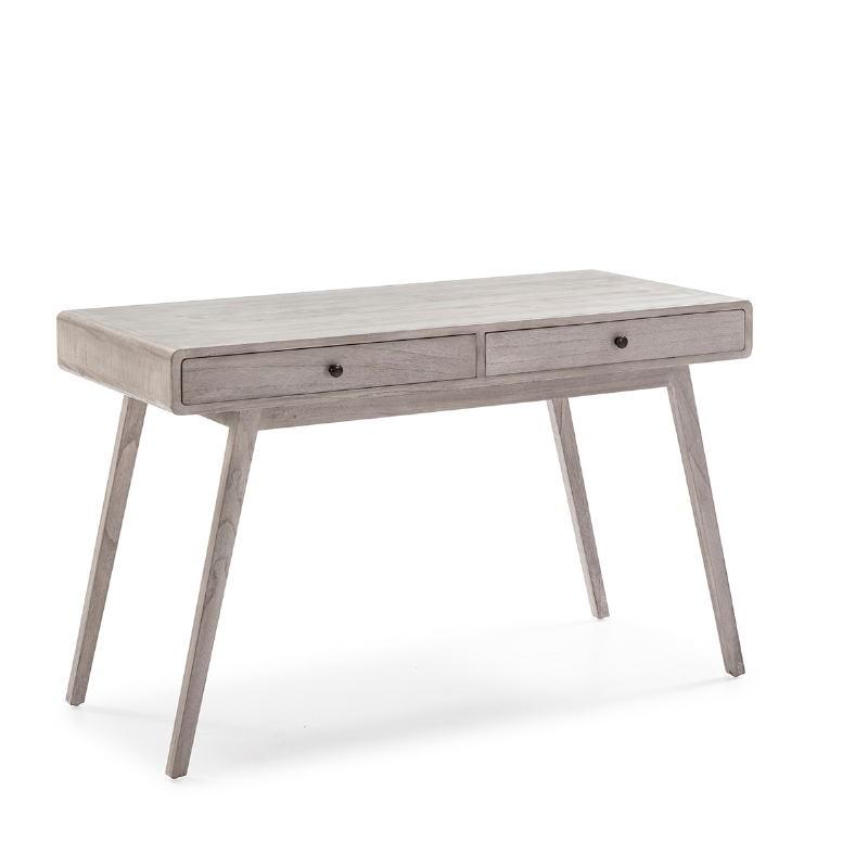 Schreibtisch 120X55X76 Verschleiertes Graues Holz - image 53762
