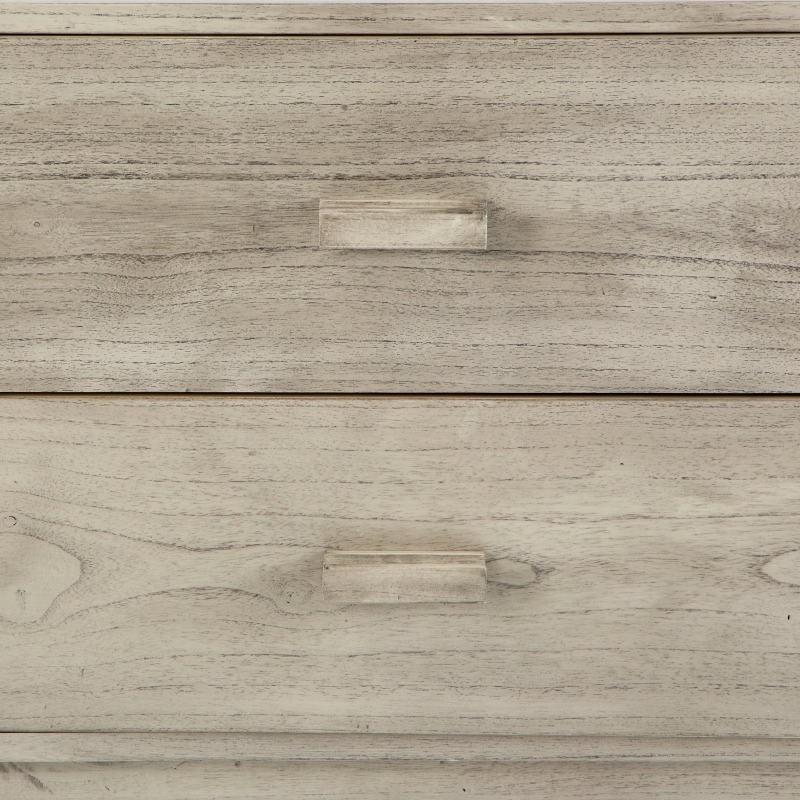Sideboard 200X50X75 Gebleichtes Graues Holz - image 53786