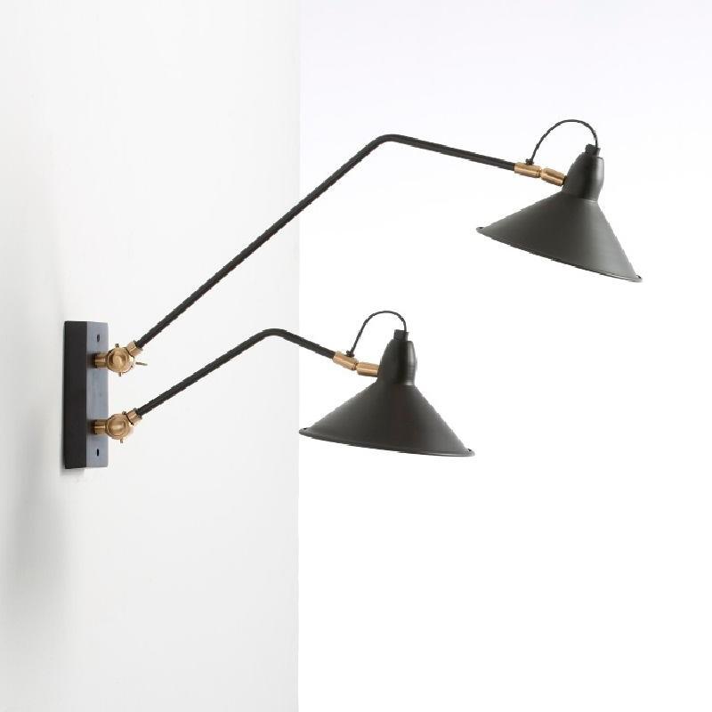 Wall Lamp 66X19X40 Metal Black