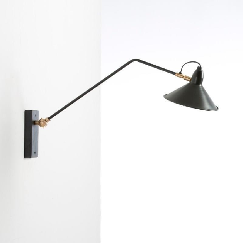 Wall Lamp 75X19X37 Metal Black