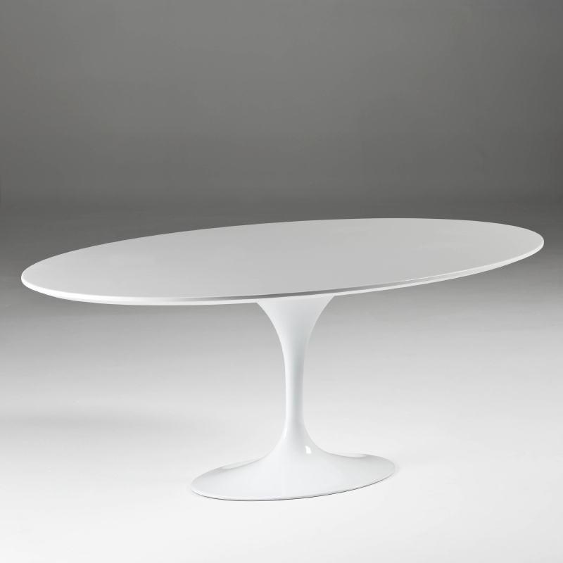 Dining Room Table 200X120X75 Aluminium Mdf White