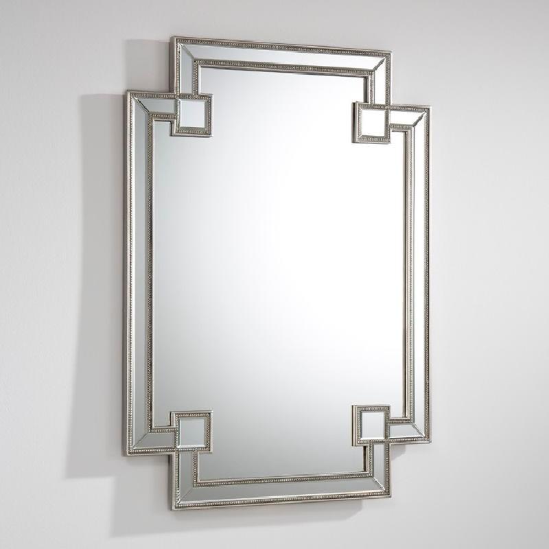 Mirror 89X2X121 Mdf Silver