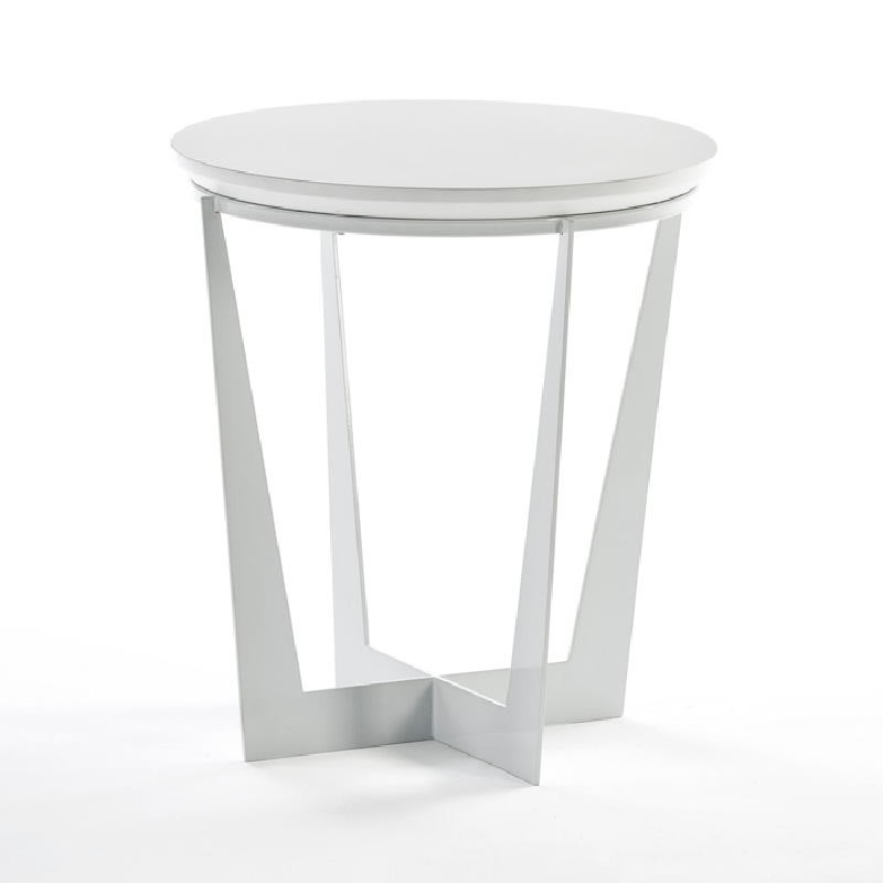 Auxiliary Table 50X50X55 Metal Mdf White