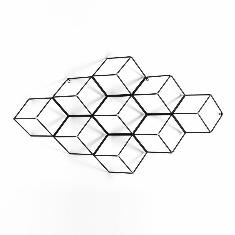 Escultura 84X18X152 Metal Oro Negro - image 53940