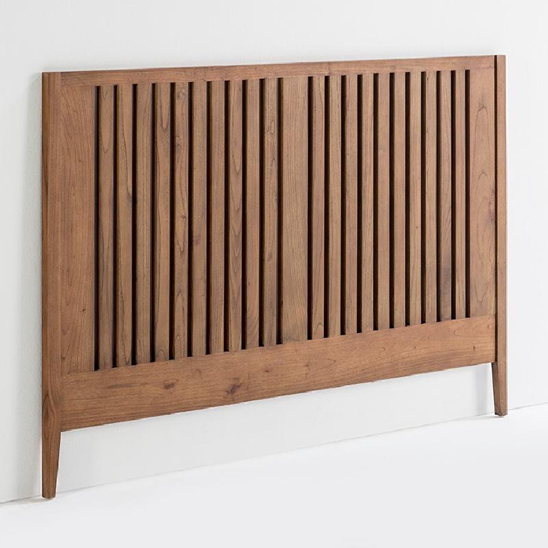 Headboard 162X3X110 Wood Natural Veiled - image 53980