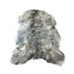 Peau de mouton islandais XXL ICELAND (blanc, gris)
