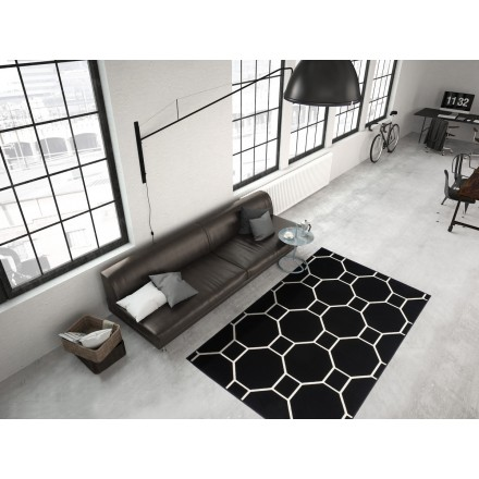 Graphic rug